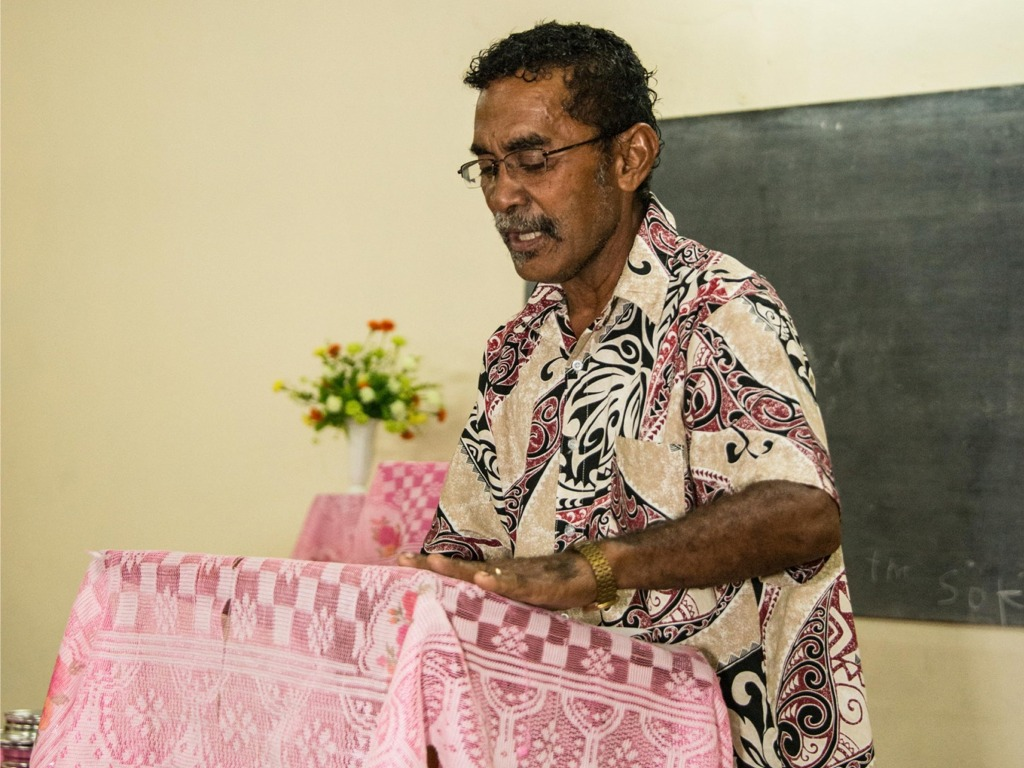 Sikeli Koroi - PIBC training preachers